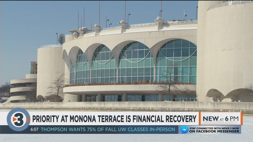 Priority At Monona Terrace Is Financial Recovery