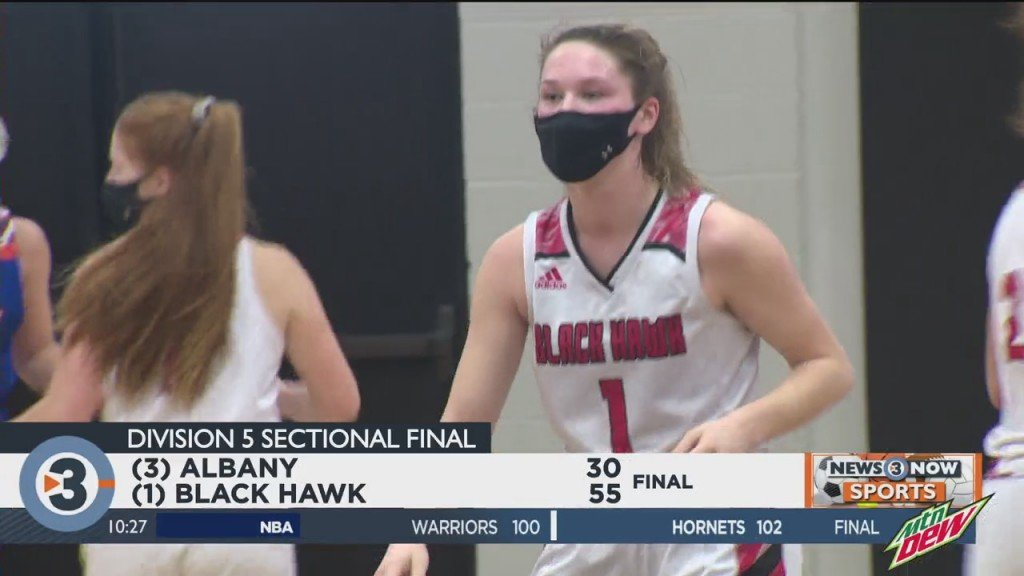 Black Hawk Beats Albany