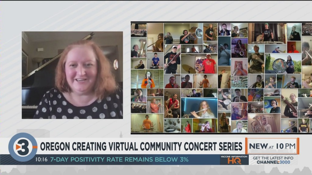Oregon Creating Virtual Community Concert Series