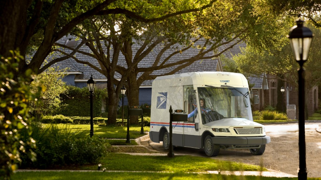 New Postal Service delivery vehicle unveiled