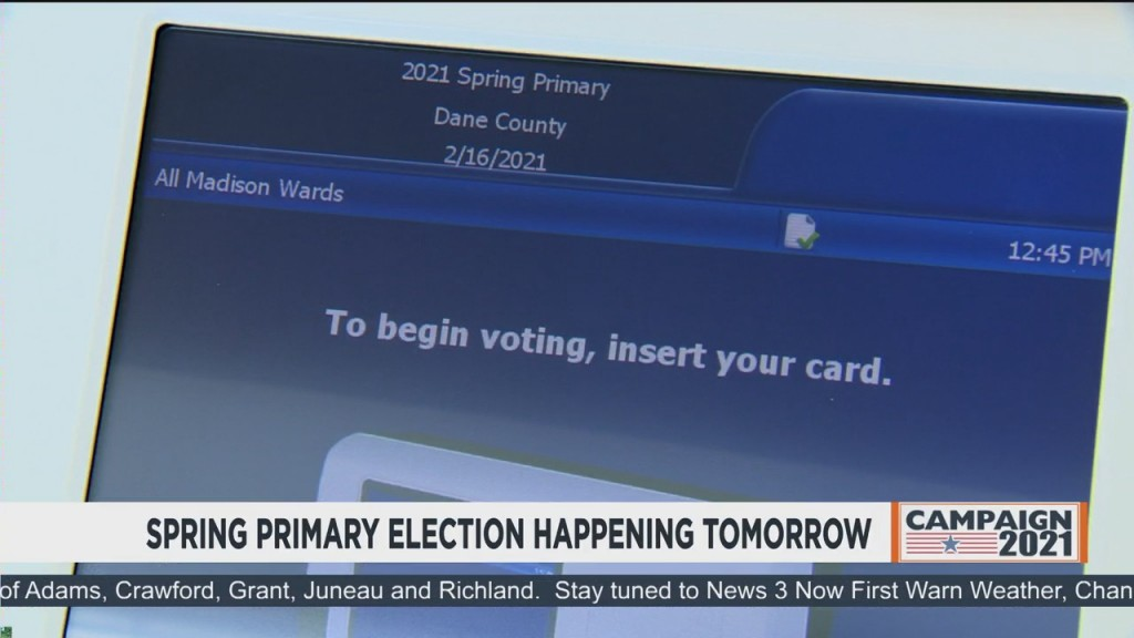 Spring Primary Election Happening Tomorrow