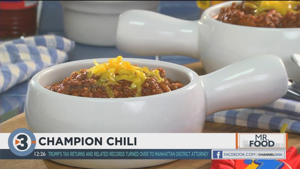Mr. Food: Champion Chili