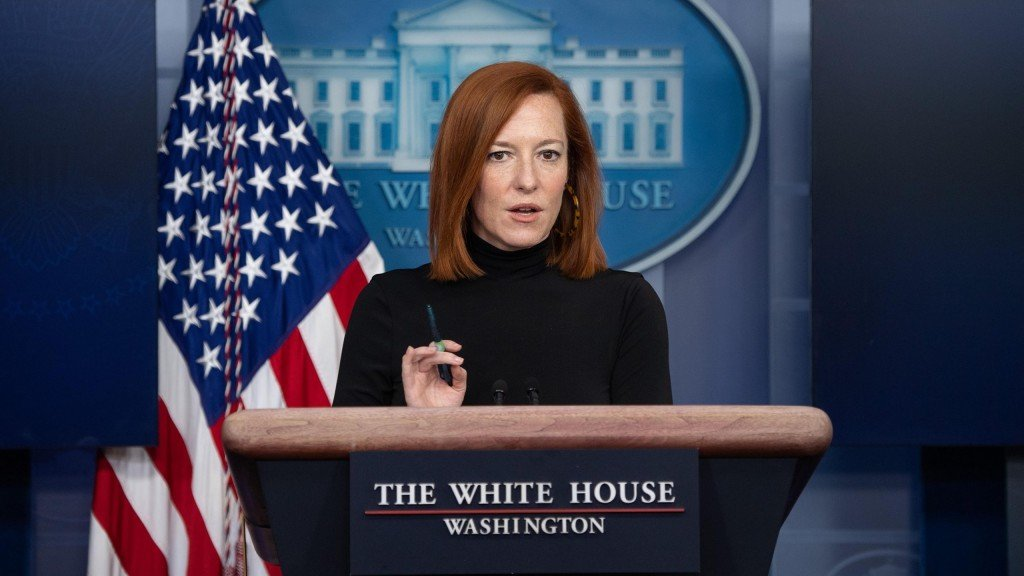 Us Politics Press Briefing Psaki