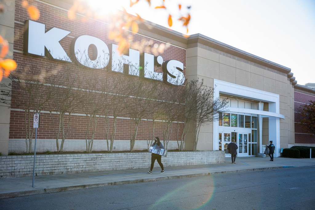A Kohl's Department Store Ahead Of Black Friday