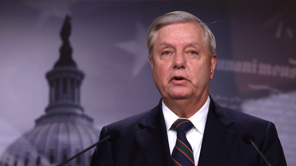 Sen. Lindsey Graham (r Sc) Holds A News Conference On Yesterday's Pro Trump Mob Attack On The Capitol