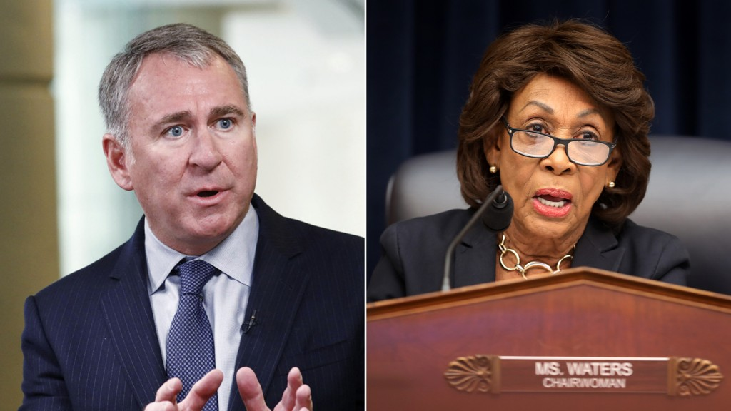 GameStop Ken Griffin Maxine Waters