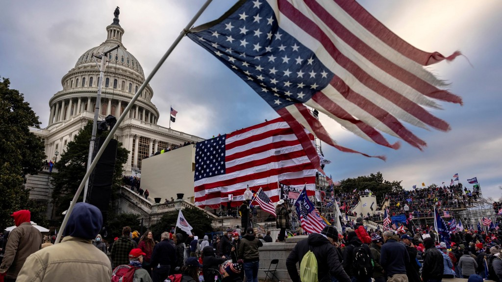 "Trump Supporters Hold ""stop The Steal"" Rally In Dc Amid Ratification Of Presidential Election"
