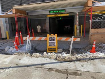 Wilson Street Garage closed