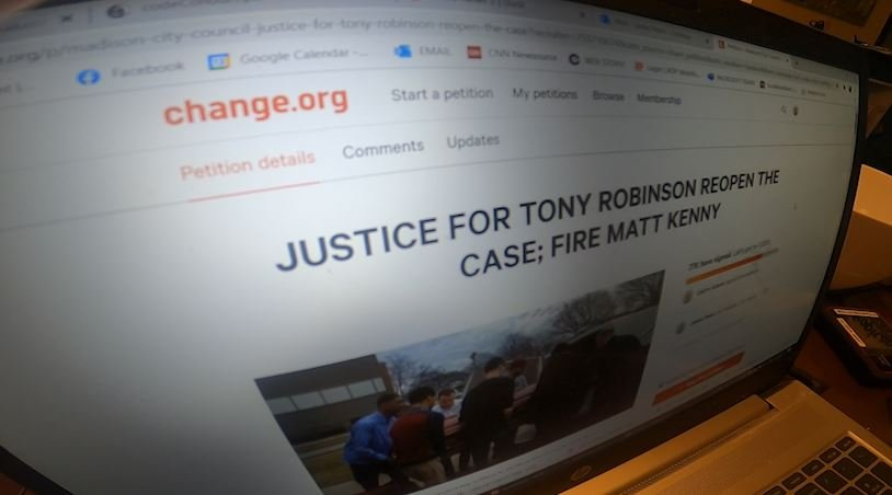 Tony Robinson Petition