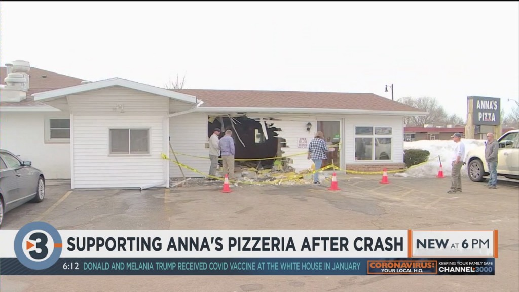 Supporting Anna's Pizzeria After Crash