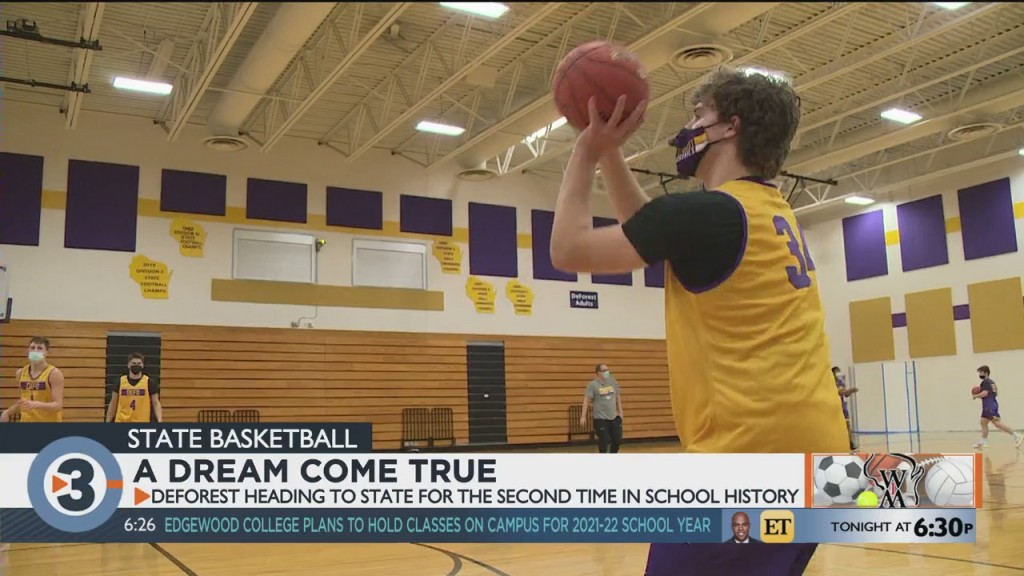 A Dream Come True: Deforest Heading To State For The Second Time In School History