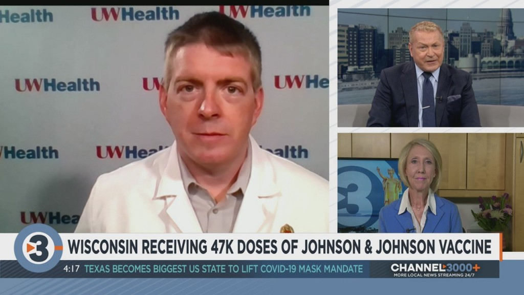 Wisconsin Expected To Receive First Shipment Of Johnson & Johnson Vaccine Next Week