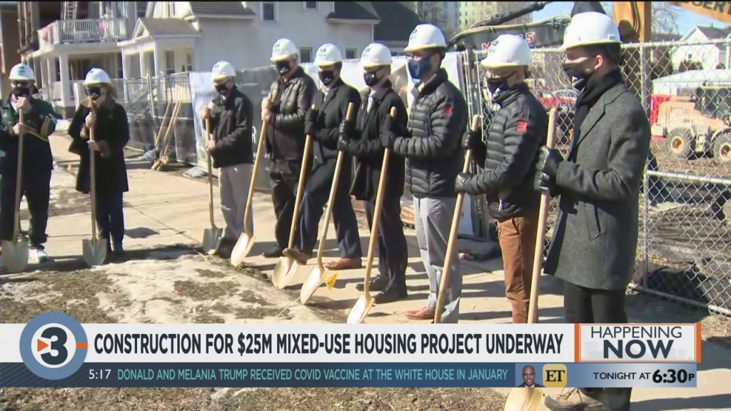 Construction For $25 Million Mixed Use Housing Project Underway
