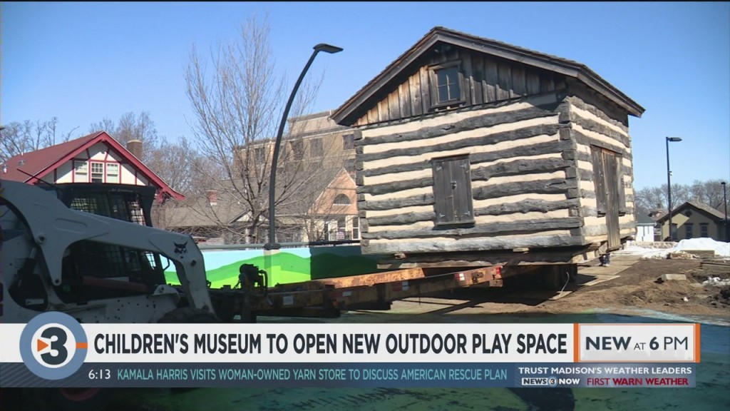 Children's Museum To Open New Outdoor Play Space