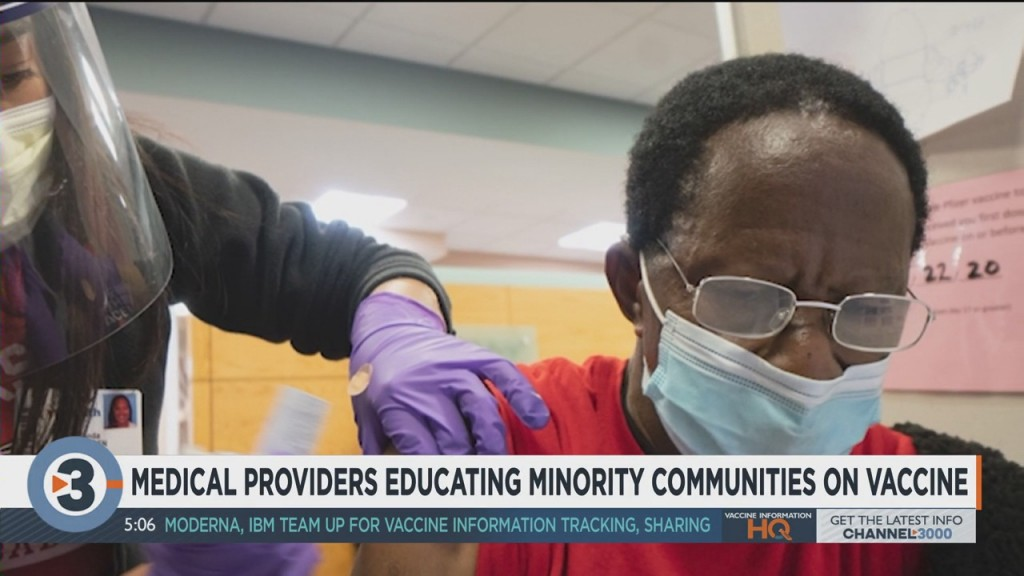 Medical Providers Educating Minority Communities On Vaccine