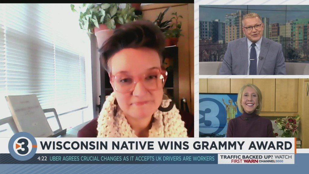 Wisconsin Native Wins Grammy Award