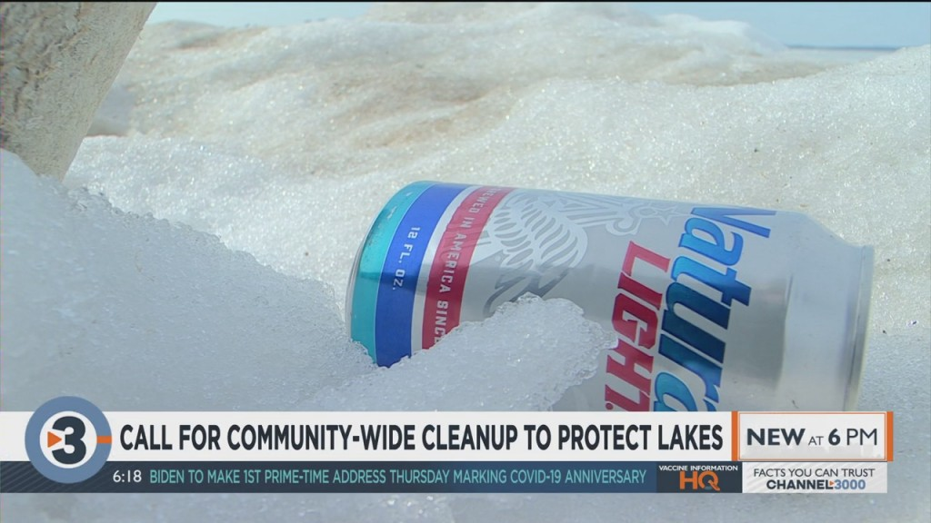 Call For Community Wide Cleanup To Protect Lakes