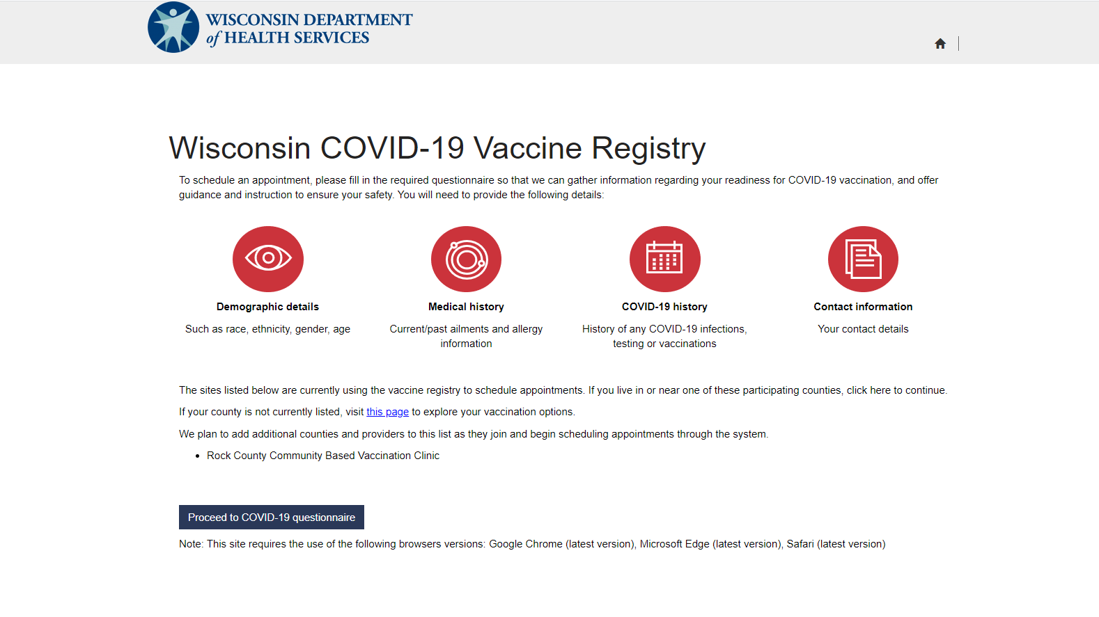 How to add your name to Wisconsin's new 'Vaccine Registry' and get notified when appointments become available - Channel3000.com - WISC-TV3