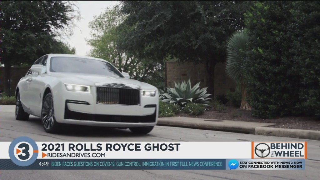 Behind The Wheel: 2021 Rolls Royce Ghost