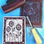 Print with rubber stamp