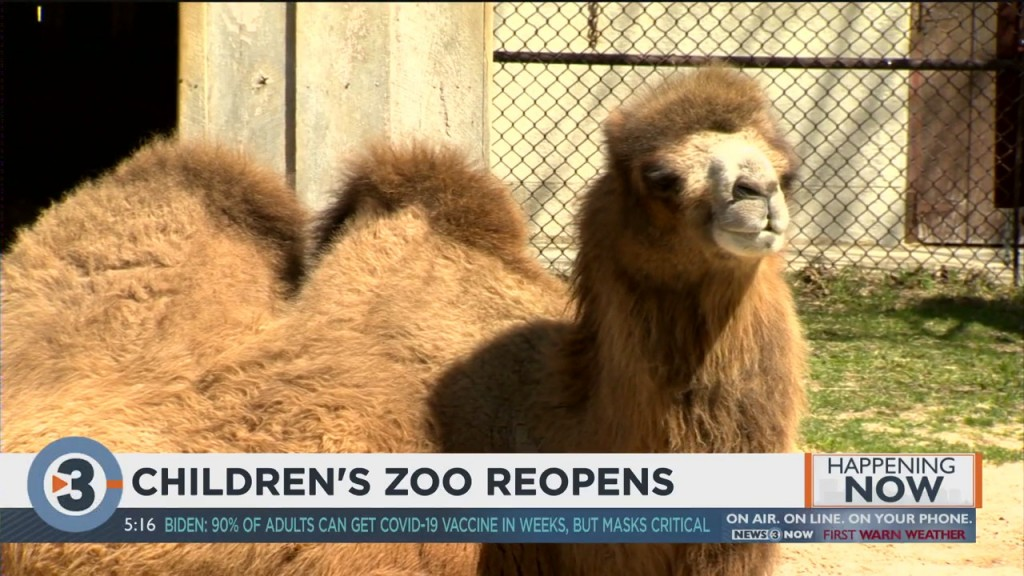 Children's Zoo Reopens At Henry Vilas Zoo