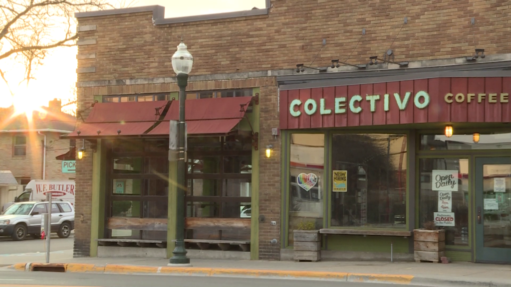 Colectivo coffee on Monroe street