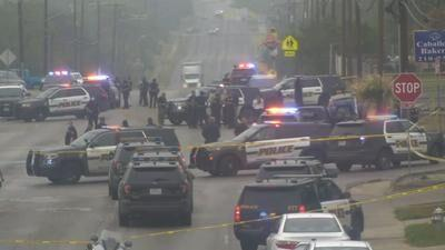 2 Men Killed, Officer Wounded In San Antonio Shootout