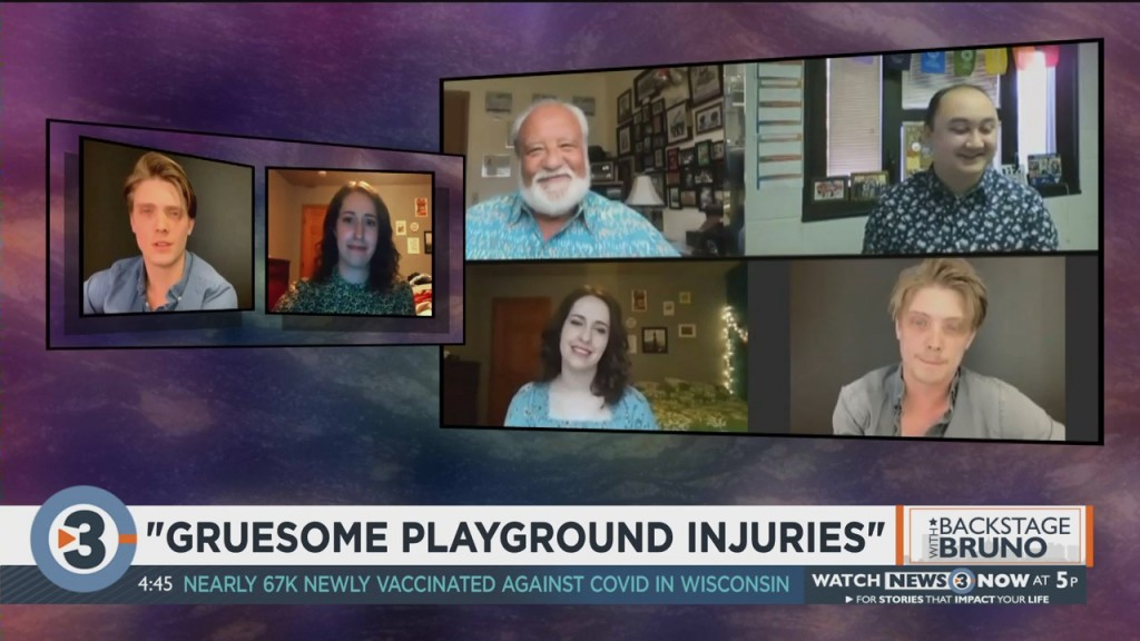 Backstage With Bruno: 'gruesome Playground Injuries'