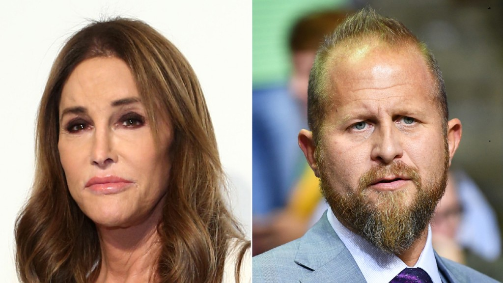 Caitlyn Jenner and Brad Parscale