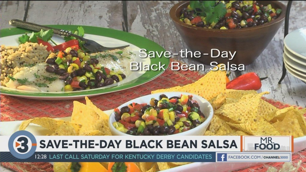Mr. Food: Save The Day Black Bean Salsa