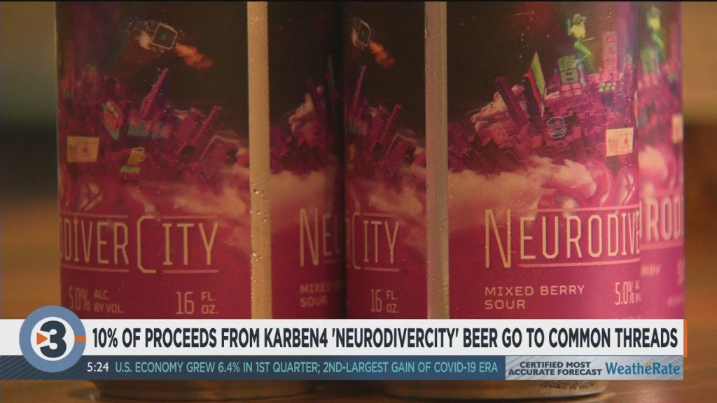 10% Of Proceeds From Karben4 'neurodivercity' Beer Go To Common Threads