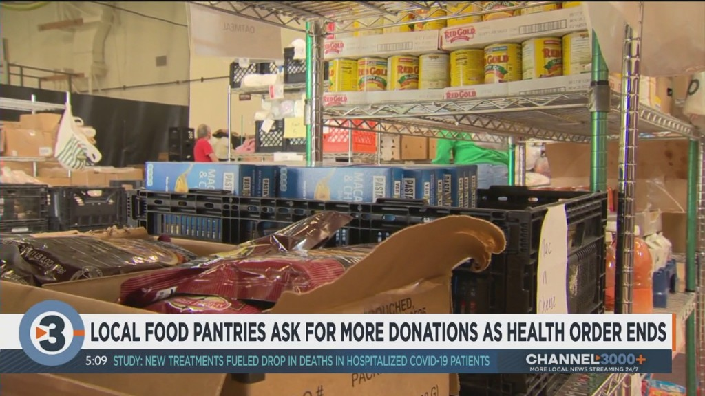 Local Food Pantries Ask For More Donations After Wisconsin Health Order Is Struck Down