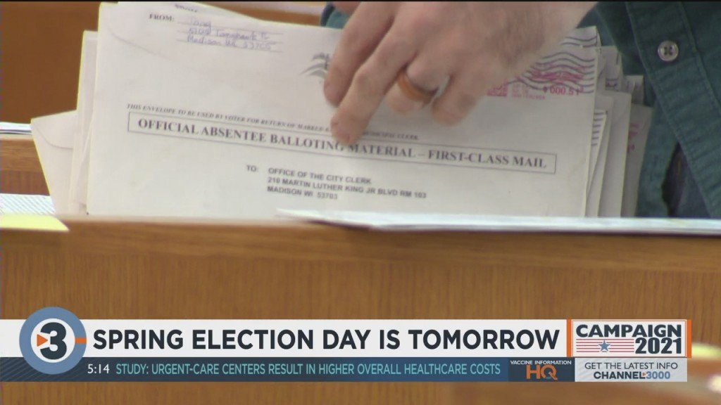 Spring Election Day Is Tomorrow