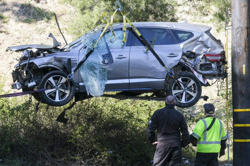 Tiger Woods Was Speeding Before Crashing Suv, Sheriff Says