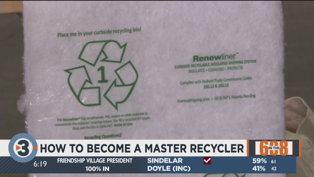 In The 608: Sustain Dane Launching New Recycling Program