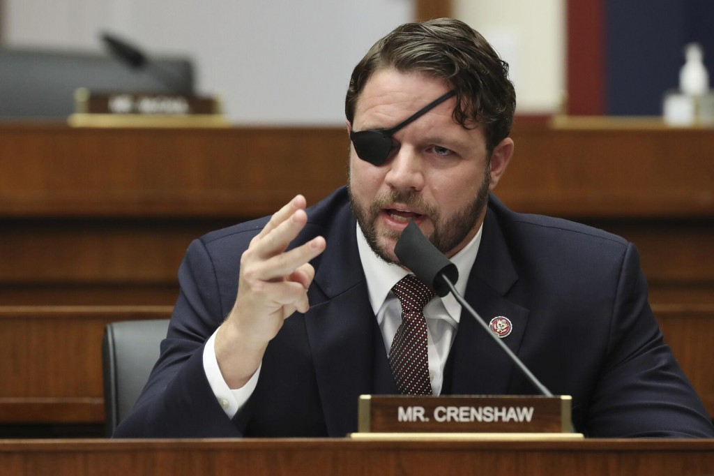 Texas Rep. Crenshaw Temporarily Blinded After Eye Surgery