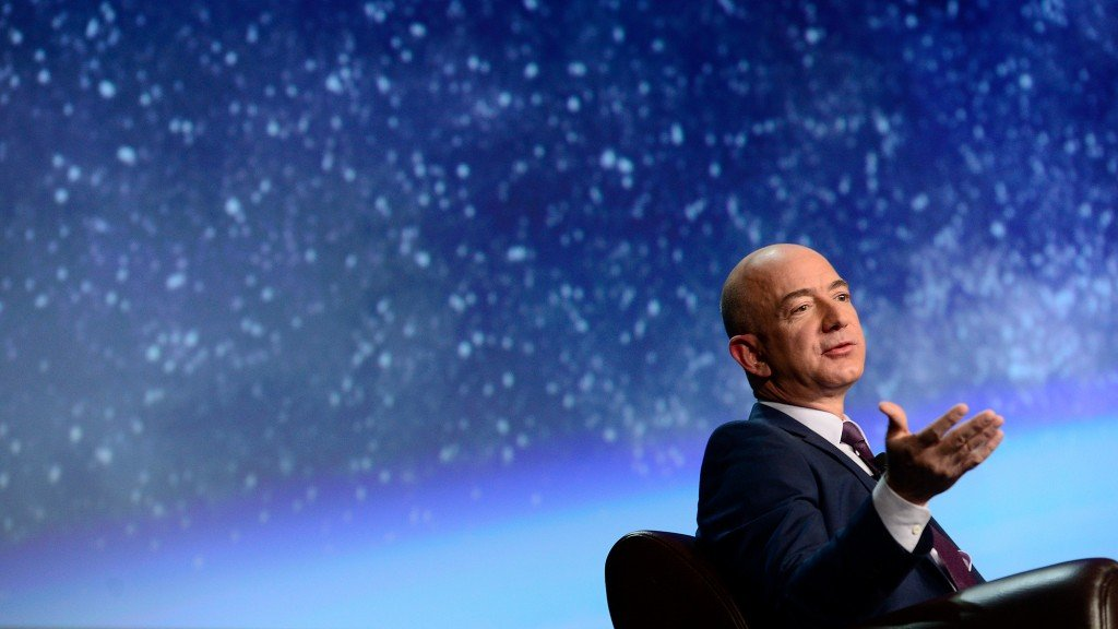 Jeff Bezos Speaks About The Future Of Space Travel