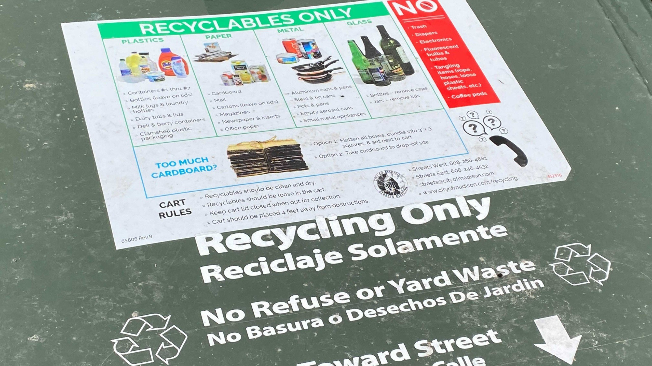 Plastic bags can no longer be recycled, city asks residents to avoid putting them in recycling bins