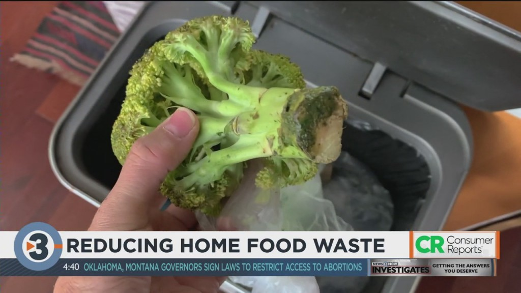 Consumer Reports: Reducing Home Food Waste