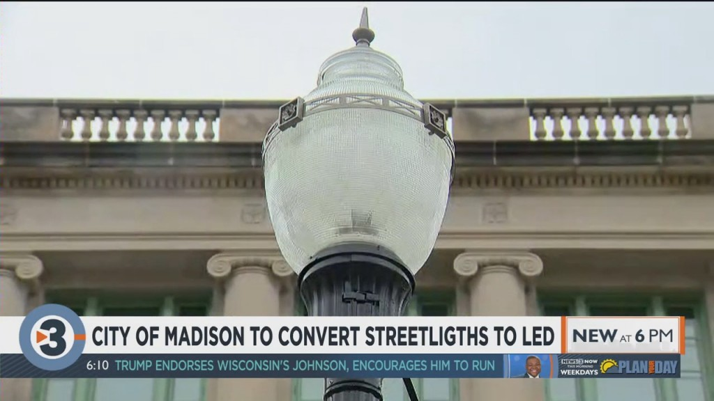 City Of Madison To Convert Streetlights To Led