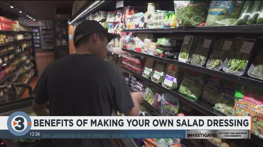 Registered Dietician Shares Benefits Of Making Your Own Salad Dressing