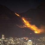 Fire On Cape Town's Table Mountain Under Control, Smoldering