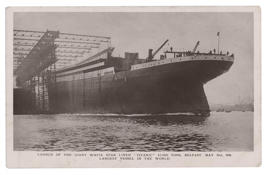 Postcard From Titanic's Radio Operator Being Sold At Auction