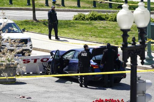 Car Rams Us Capitol Barricade, Injuring 2 Cops; Driver Shot