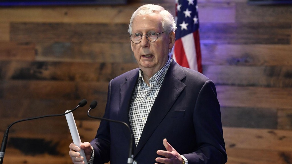After New Law, Mcconnell Warns Ceos: 'stay Out Of Politics'
