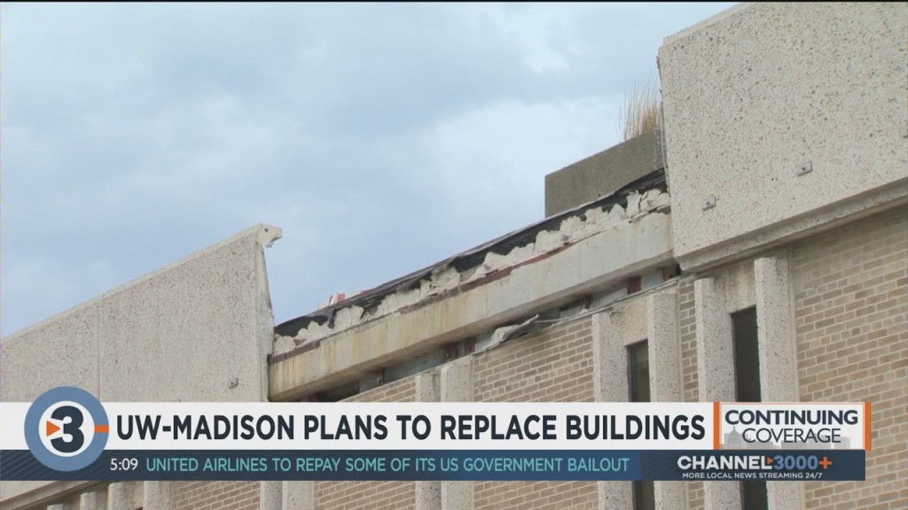 Uw Madison Plans To Replace Buildings