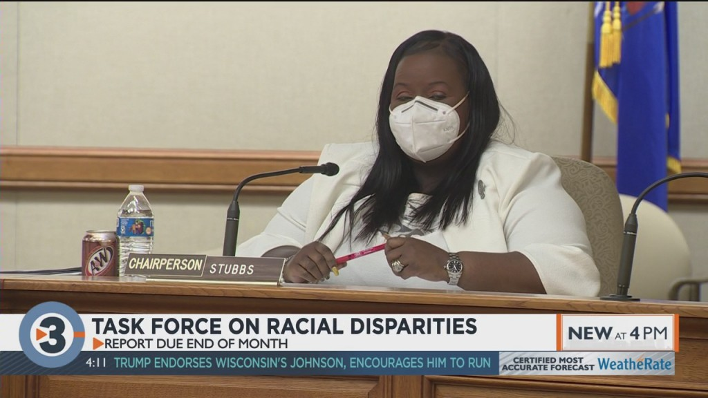 Task Force On Racial Disparities To Release Recommendations For Police Policies
