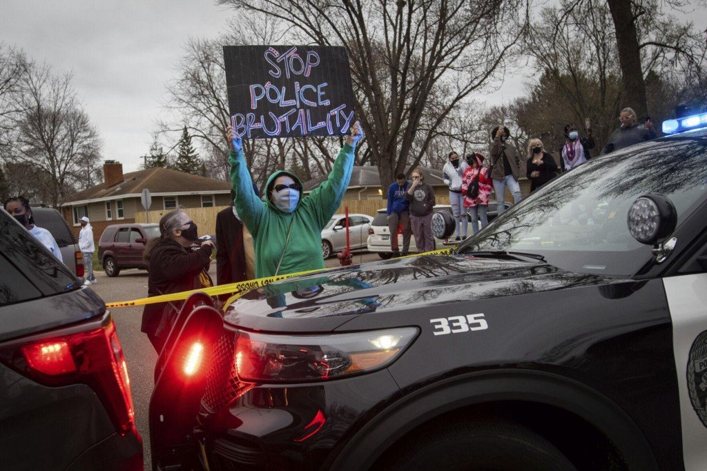 Black Man's Death In Minnesota Traffic Stop Sparks Unrest