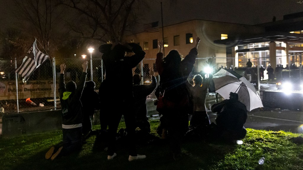 MN shooting protest