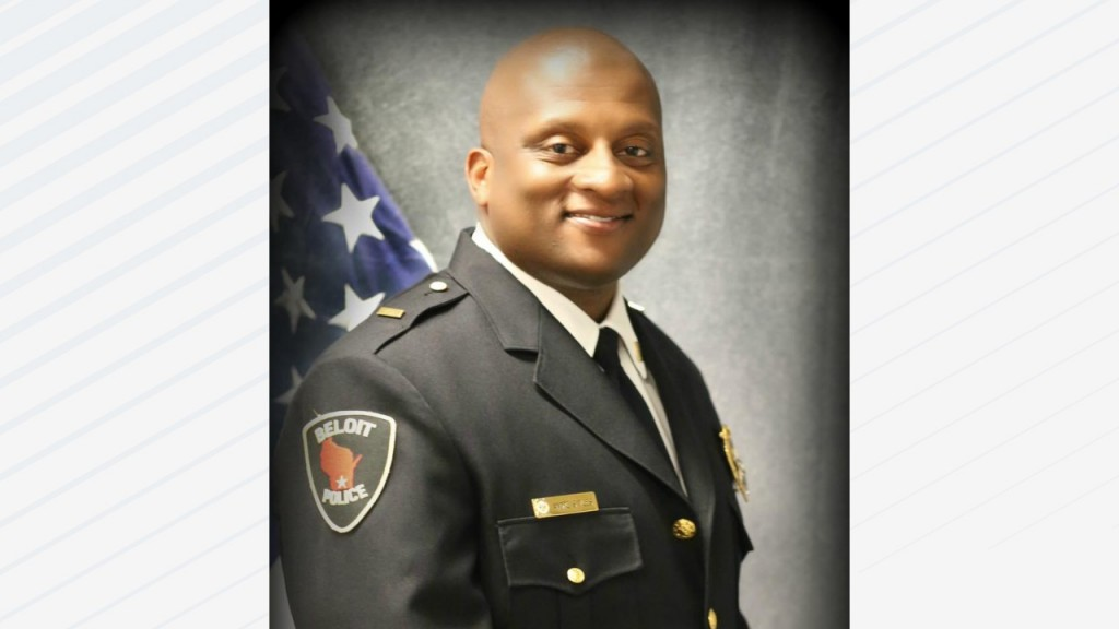 Beloit Police Chief Andre Sayles